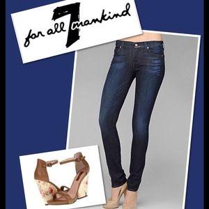 HOST PICK 9/8 7 for all Mankind ORIG SKINNY Jeans