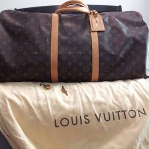 RESERVED Louis Vuitton Keepall 60 monogram duffle
