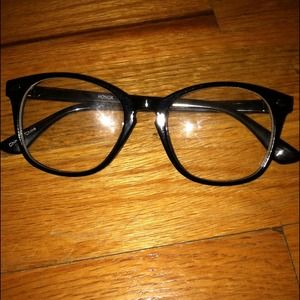 Glasses Frames Urban Outfitters : Urban Outfitters - White glasses frame from Urban ...