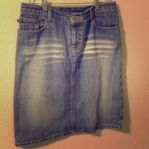 Ralph Lauren Denim Skirt