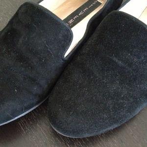 Steven by Steve Madden Shoes - Steven By Steve Madden Black Suede Loafers.
