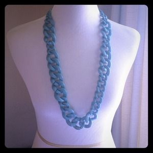 Baby Blue BaubleBar Crayola Links Necklace