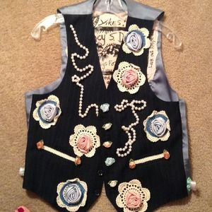 Jackets & Blazers - One OF A KIND VEST Reduced!