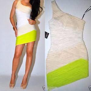 Neon Shoulder Dress