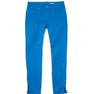 Club Monaco blue kera crop pant