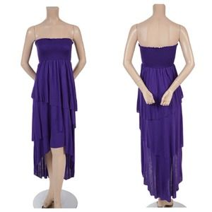 Dresses & Skirts - SOLD. High-Low Tube Maxi