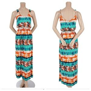 Dresses & Skirts - ~SOLD~ Multi-color Summer Maxi