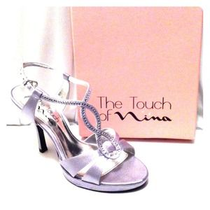 The Touch of Nina Silver Heels