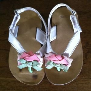 Infant girl Gymboree sandals size 5