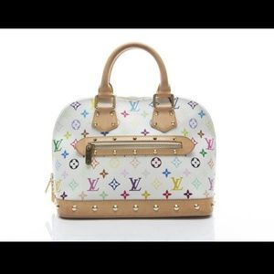Louis Vuitton Handbags - Hold@@100% Authentic Louis Vuitton Alma Multicolor