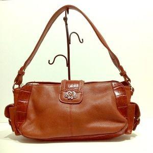 M.C. Croco &Grain Leather satchel
