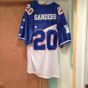 big sale 33265 19f54 Authentic throwback Barry Sanders pro bowl jersey