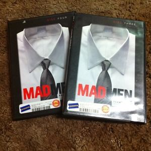 Other - Mad men season two disc three and four.