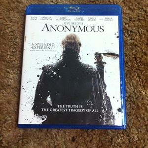 Other - Blu ray disc of Anonymous :)