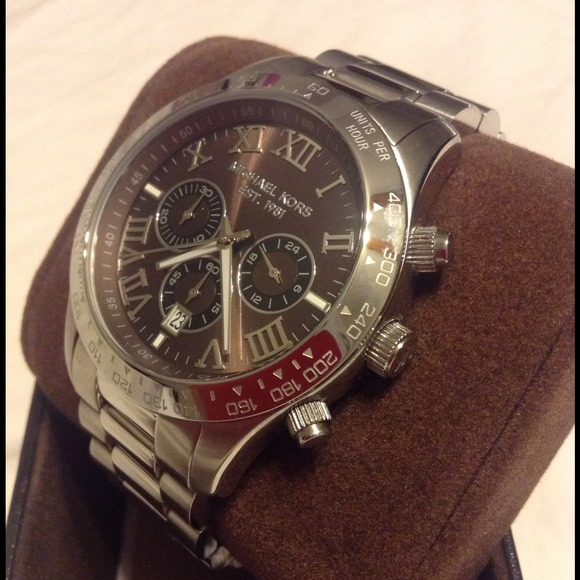 63d923e8cc76 Michael Kors Layton Chronograph Oversized 45mm