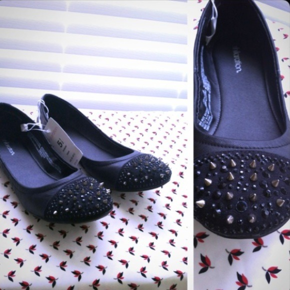 Exhilaration (Target) Shoes - XX RESERVED XX studded scrunch ballet flat. 3