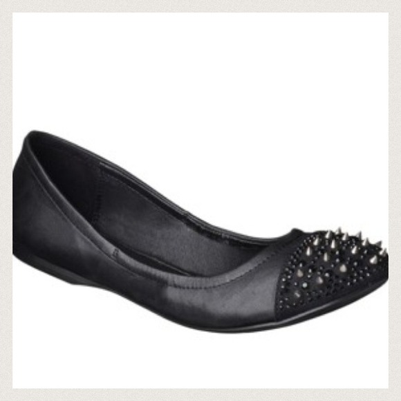 Exhilaration (Target) Shoes - XX RESERVED XX studded scrunch ballet flat. 4