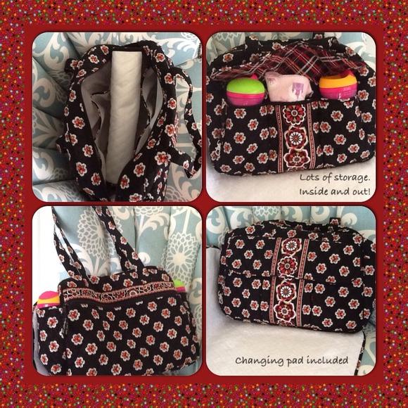 Vera Bradley diaper bag in Pirouette. M 5183f78db5321349760146e2 a24358525f910