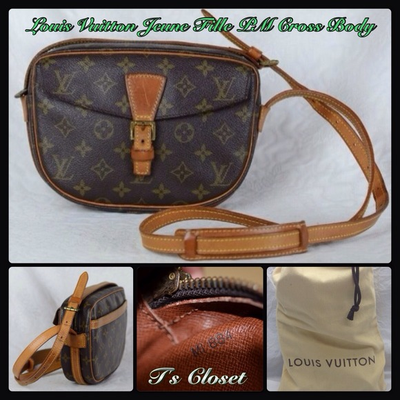 1a5bcec2f47 Louis Vuitton Bags   Reservedauthentic Jeune Fille Pm   Poshmark