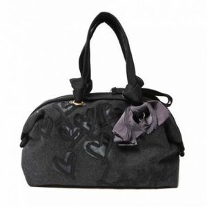LANVIN Flat-Face Bowler Small Anthracite felt NWT