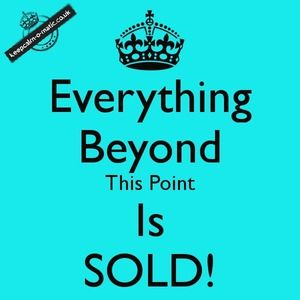 🏁 SOLD Beyond This Point 🏁