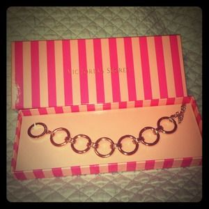 Victoria's Secret Gold Chain Bracelet new!