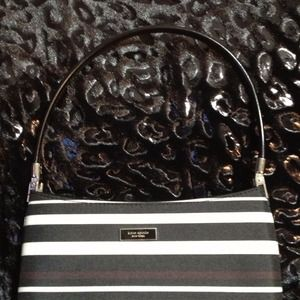 Kate spade striped handbag