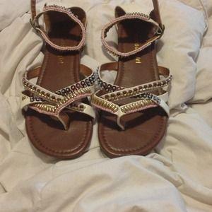 Gladiator sandals!!!