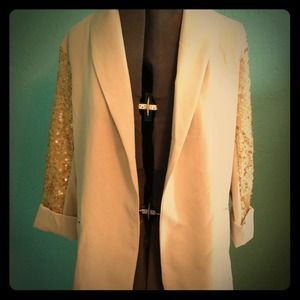 Urban Hearts Jackets & Blazers - Urban Hearts Sequin Blazer