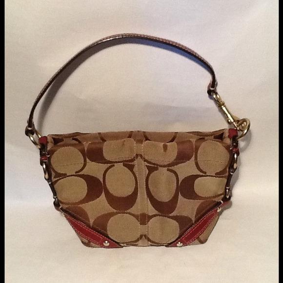 Coach Handbags - REDUCED AUTHENTIC COACH CARLY SIGNATUR PURSE 40347 fa5ee59784f67