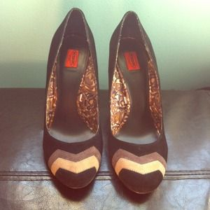 Missoni for Target Shoes - Missoni for Target Chunky Heel Pumps