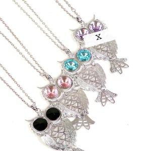 "Jewelry - 28"" Owl pendant necklace"