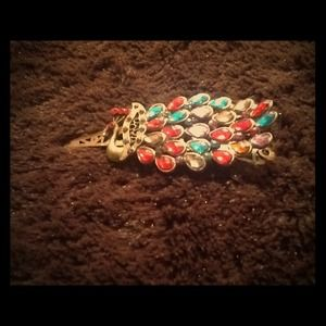 Jewelry - 💗💗peacock hair clip, so gorgeous!!:)💗💗