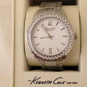 Kenneth Cole Silver Watch