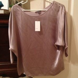 Lavender Vince Silk top