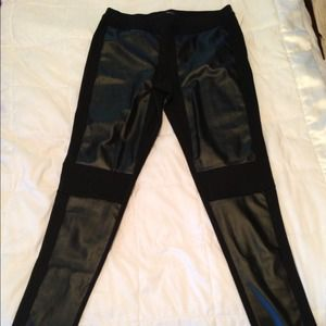 Nordstrom's Faux Leather Leggings