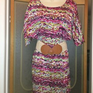 Worn once - Isabel Lu multi colored dress Size XS