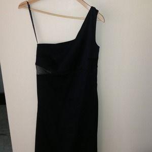 Calvin Klein black dress.