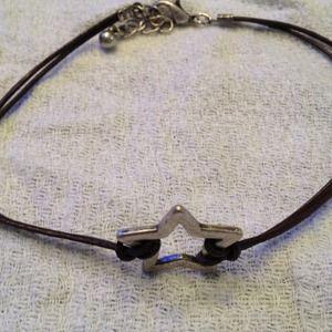 REDUCEDStar Leather Bracelet.