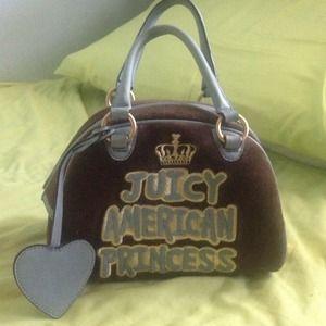Juicy couture American princess purse