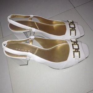 Tahari Open Toe Heels
