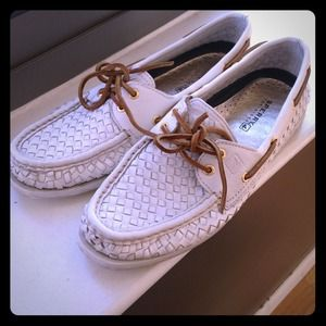 LOWERED! Sperry Top-Sider basket weave