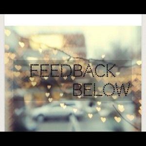 Other - Feedback!