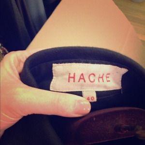 Hache Jackets & Blazers - Hache black cotton jacket size 40. Reduced!!