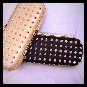 Clutches & Wallets - Studded clutch