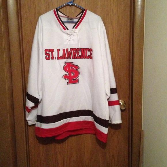 St. Lawrence University Hockey Jersey. M 5186f97ac71245588f0378ba c005718036f