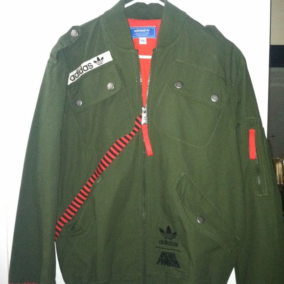 SOLD ADIDAS STAR WARS FLIGHT JACKET .