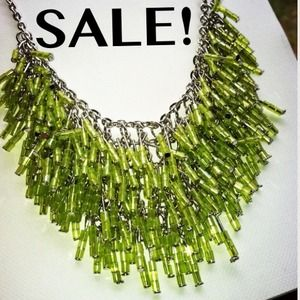 Jewelry - Was $18, now $12 NWT Green Necklace & earrings set