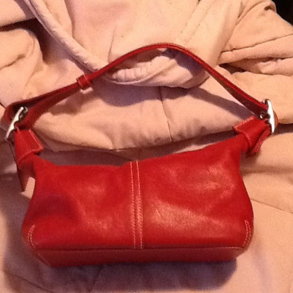 df14eaf824 Coach Bags | Small Red Leather Bag | Poshmark