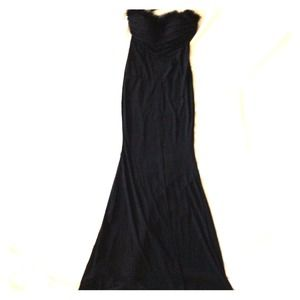 Dresses & Skirts - REDucED!!!!! Strapless black cocktail dress